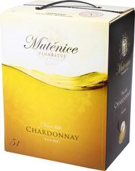 Víno bílé - CHARDONNAY,11% alk., BIB ESP