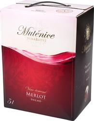 Víno červené - MERLOT, alk.11%,BIB ESP