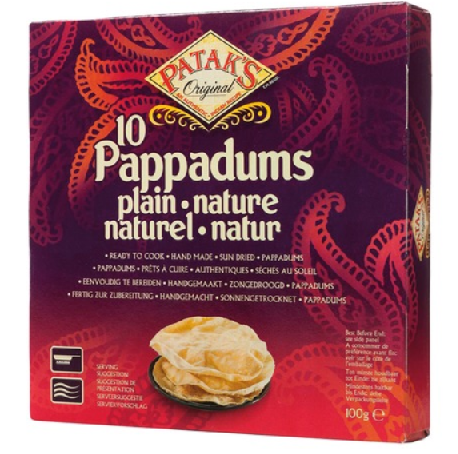 Pappadums natural