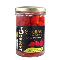 Papričky sladké mini červené Sabarot