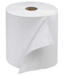 Papírové ručníky ROLO MAXI bílé 2-Vr celulóza