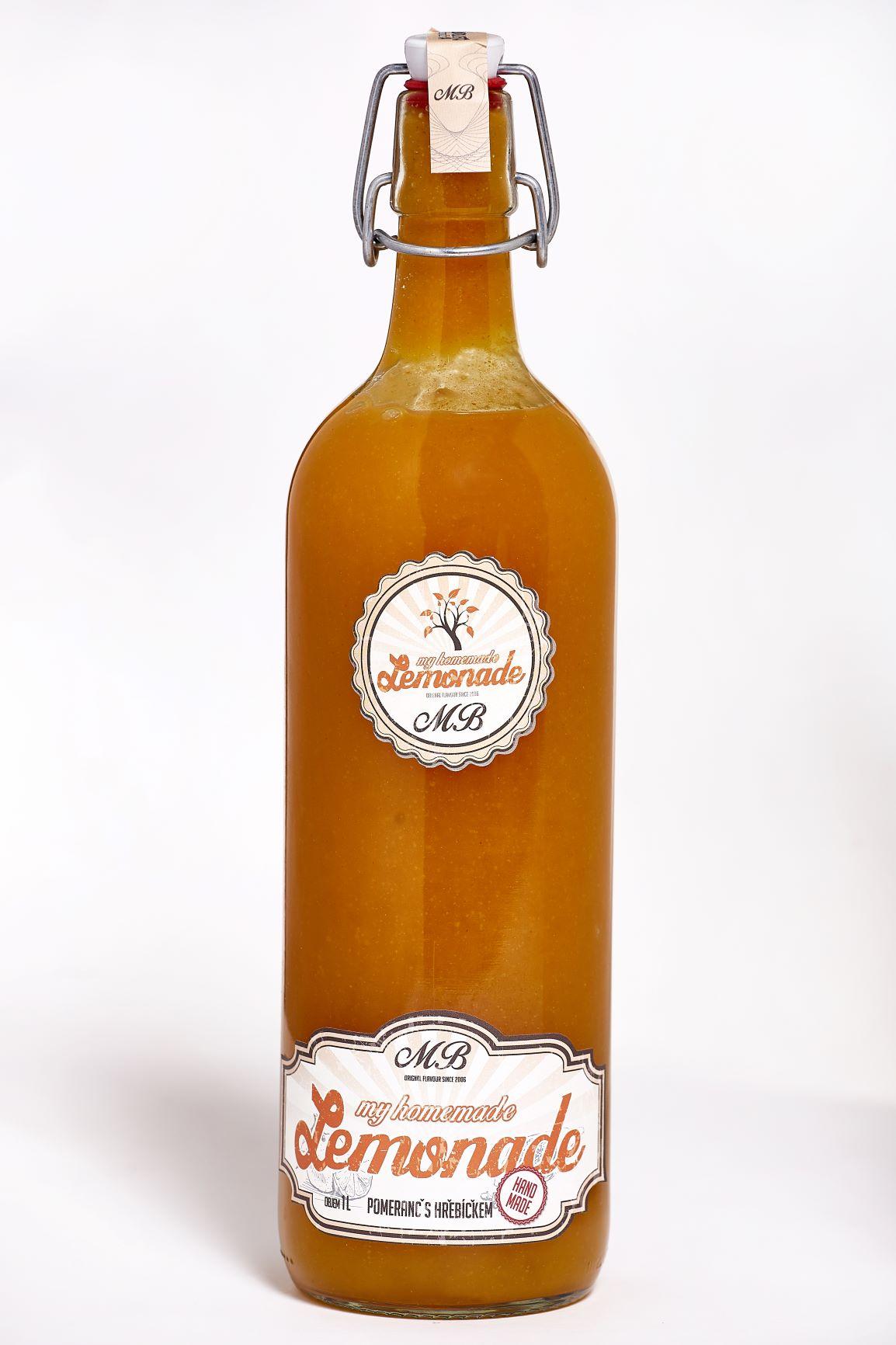 Homemade lemonade Pomeranč