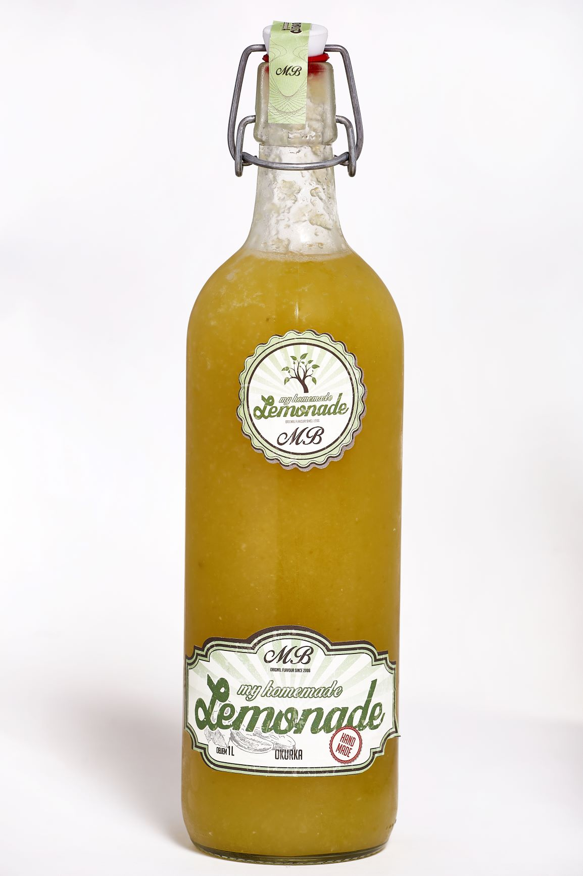 Homemade lemonade Okurka