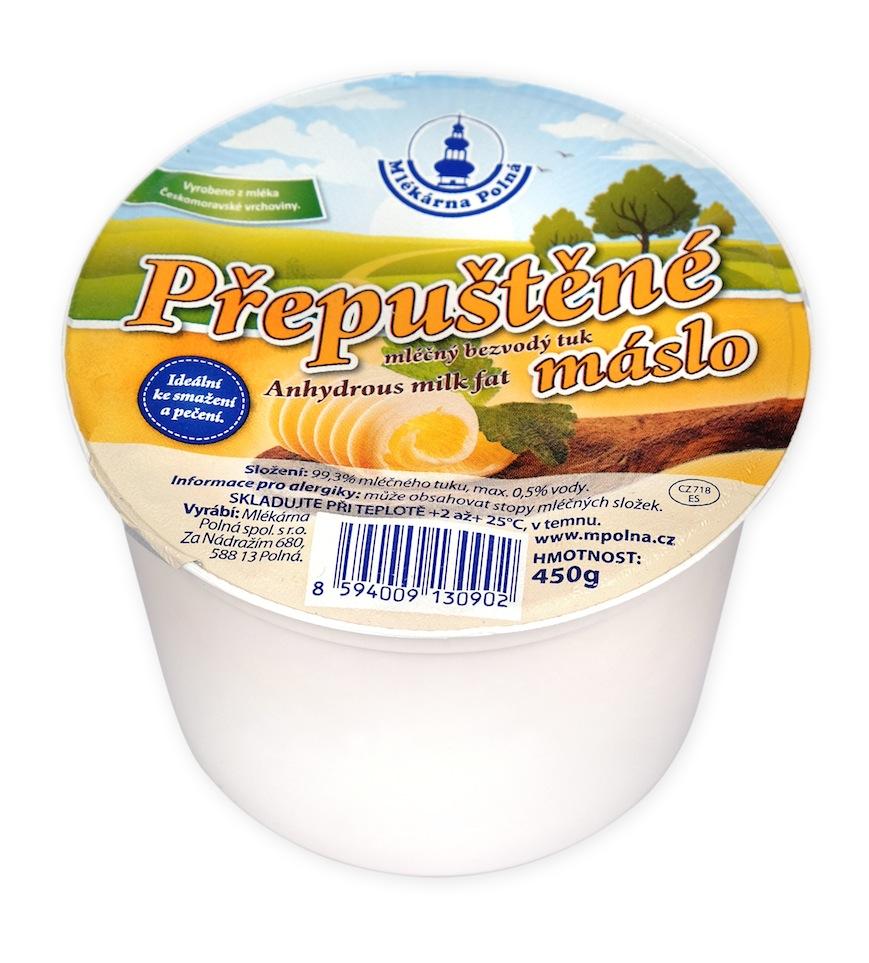 Máslo přepuštěné
