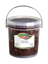 Olivy černé vypeckované Leccino D´Abruzzo Madama Oliva