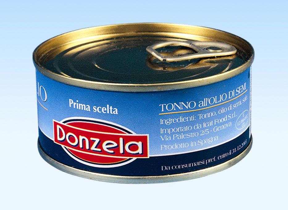 Tuňák v rostlinném oleji 160g