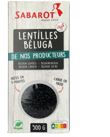 Čočka černá Beluga Sabarot