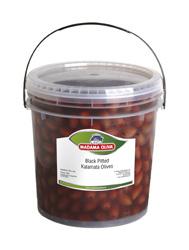 Olivy černé vypeckované  KALAMATA 1800g Madama Oliva