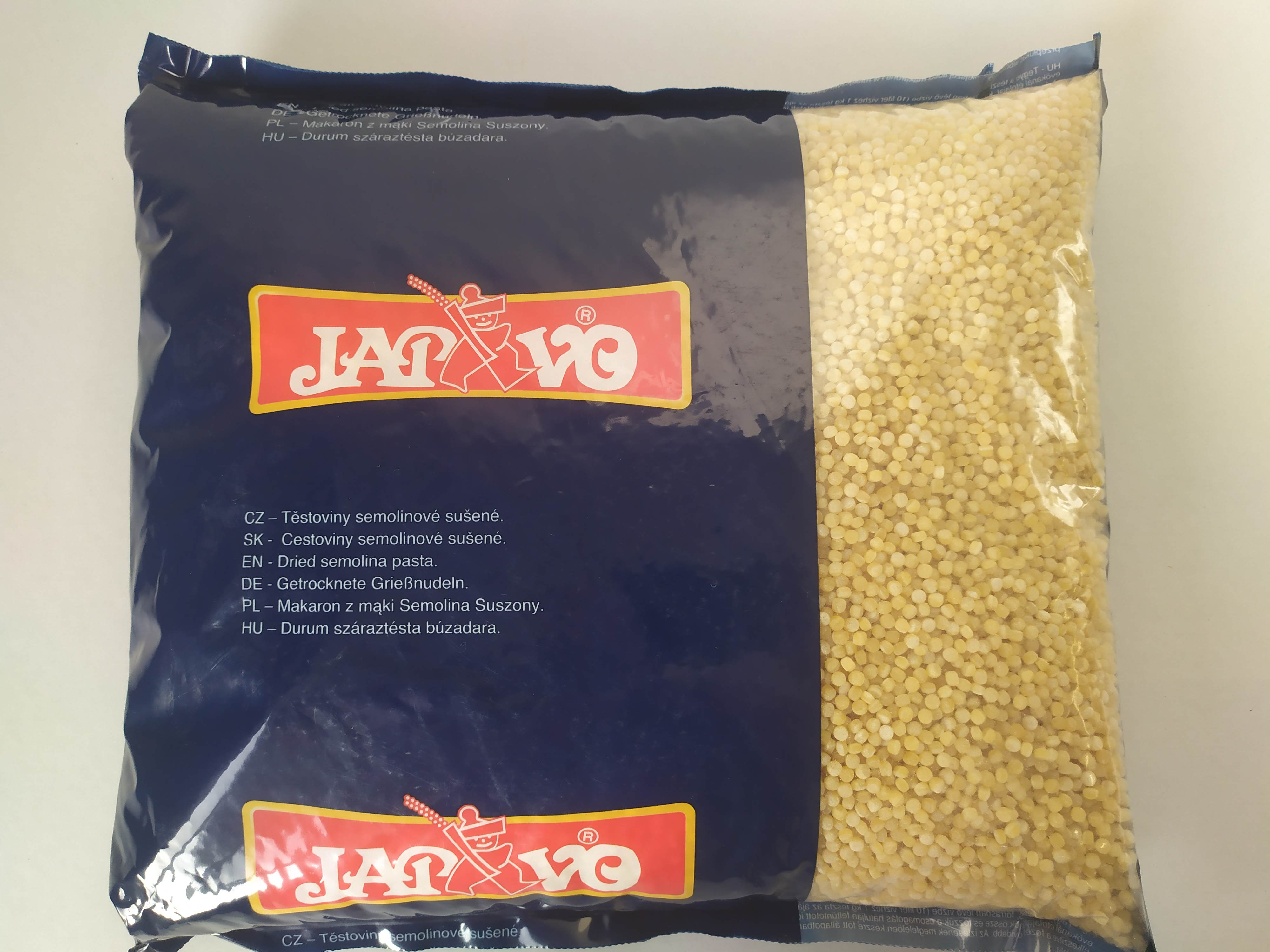 Tarhoňa semolinová 5kg Japavo