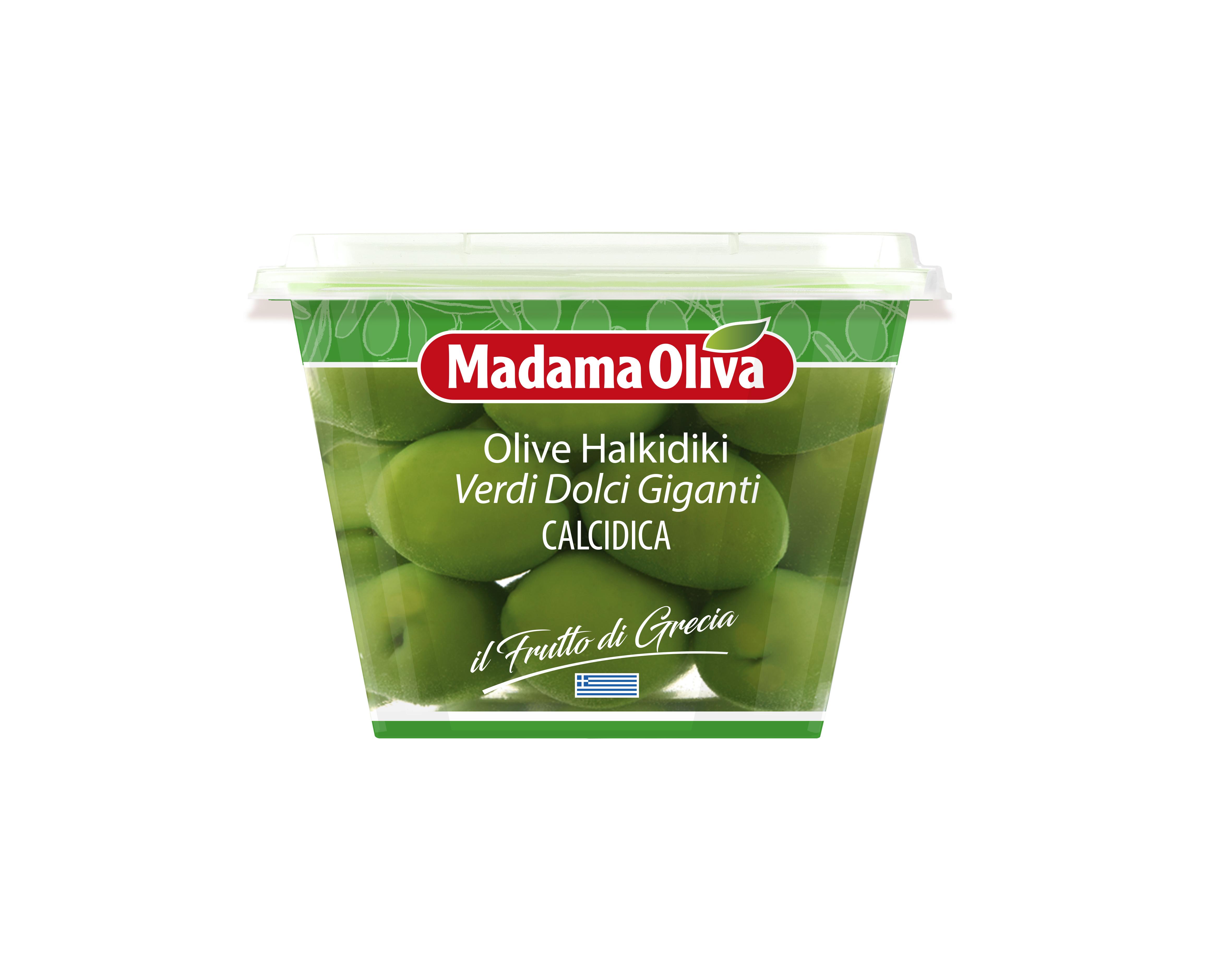 Olivy zelené GIANT 250g Madama Oliva