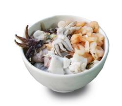 Mořský koktejl bez surimi