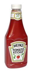 Kečup jemný plast  Heinz