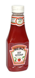 Kečup ostrý plast Heinz