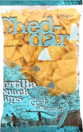 Tortilla Chips - cheddar