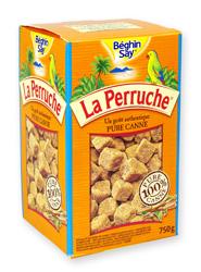Cukr La Perruche hnědý - kostka