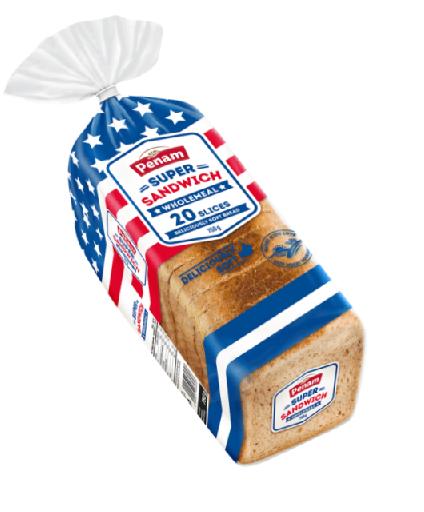 Sandwich US toast - celozrnný