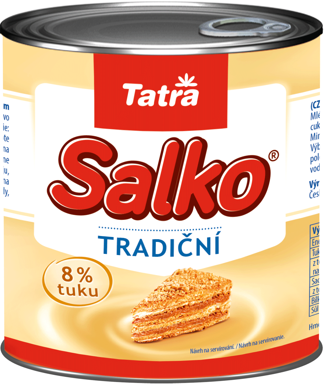 Mléko SALKO Tatra - plech