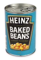 Fazole v tom. omáčce Heinz