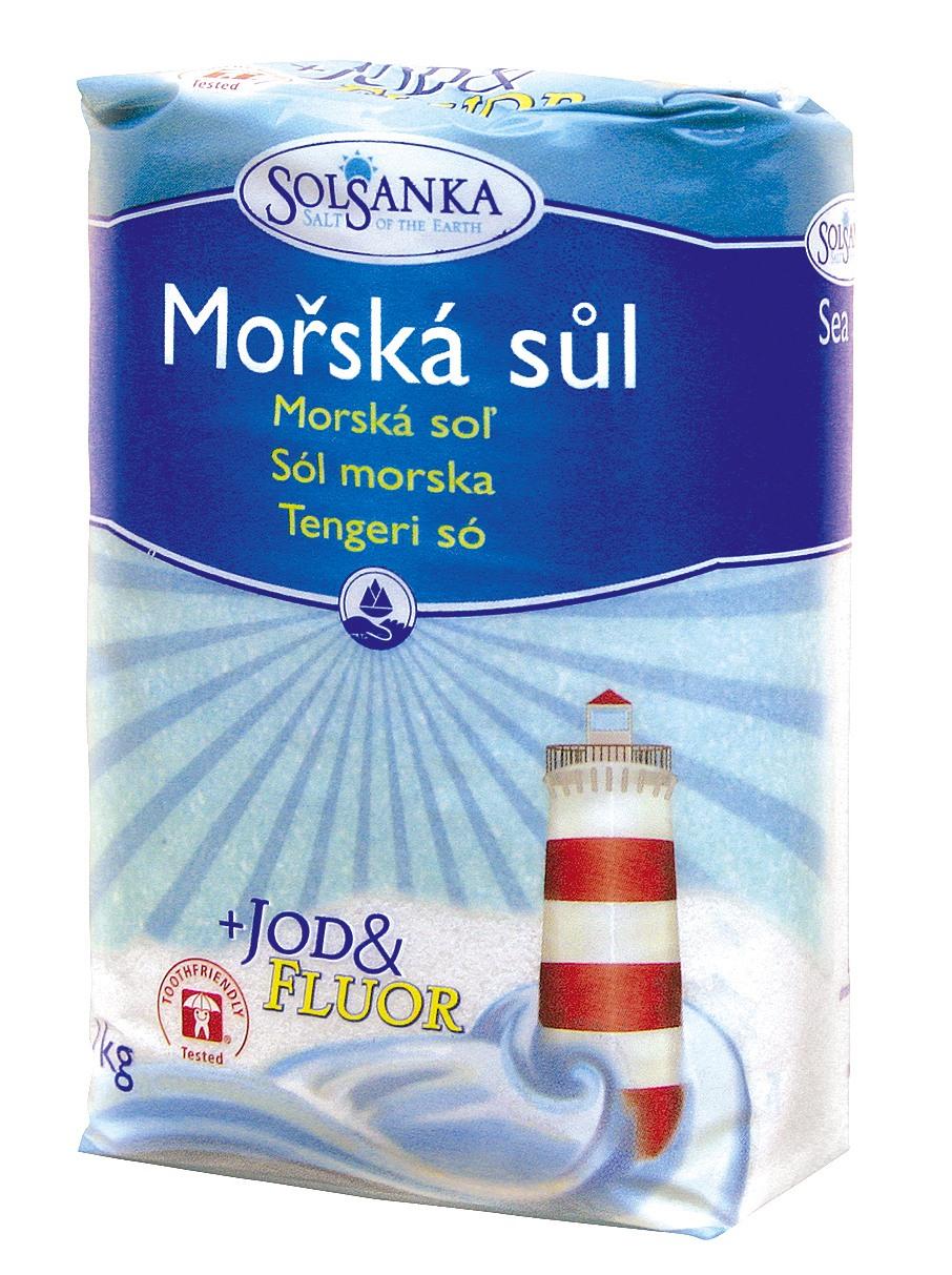 Sůl mořská JEMNÁ