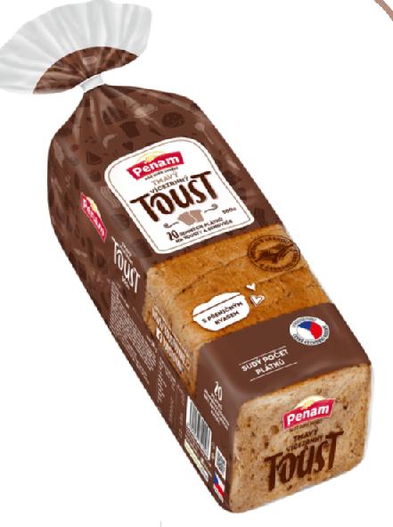 Sandwich toast PENAM - tmavý