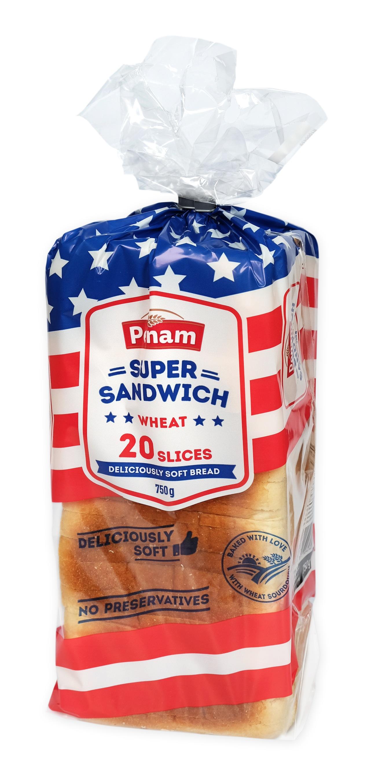 Sandwich US toast - světlý PENAM